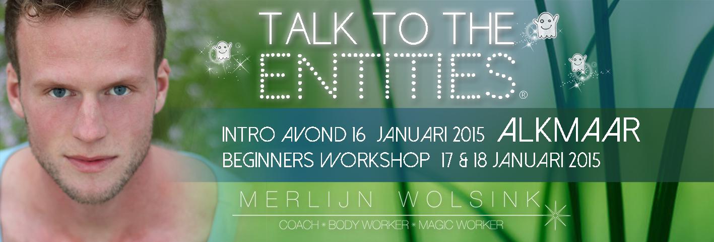 Merlijn Wolsink - Talk To The Entities - Praten met Entiteiten - Alkmaar