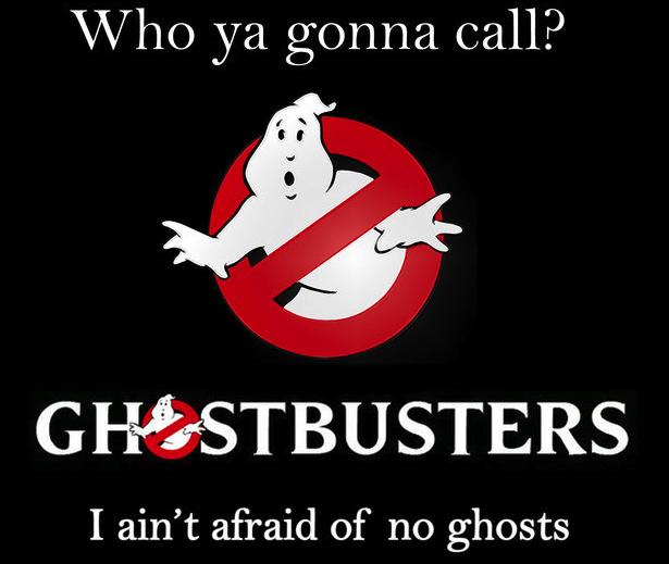 Ghostbusting, Ghostbusters, Spoken verjagen, Geesten verwijderen