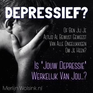Merlijn Wolsink - Depressief - Depressie veranderen