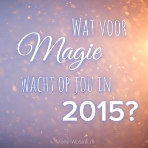 Merlijn Wolsink - Wat voor Magie wacht opjou in 2015?