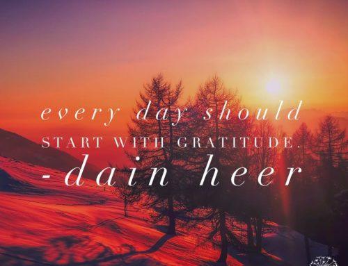 Start de dag dankbaarheid ✨